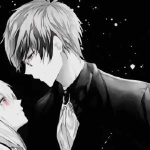 超酷黑暗情头一男一女高冷霸气 个性黑白情侣头像大全