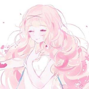 粉色简约女生头像 QQ粉头像系列(六)