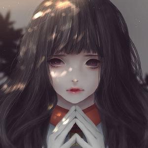 全网最美女生QQ头像 出自知名画师超唯美作品